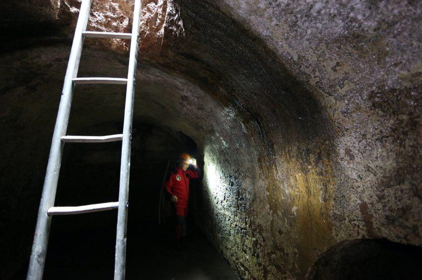 Ayasofyaya nefes aldıran  yeraltı yapıları ve kuyular keşfedildi