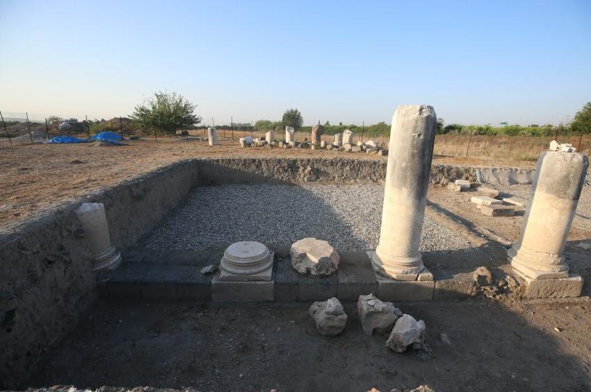 Issos Harabelerinde kilise kalıntısı bulundu
