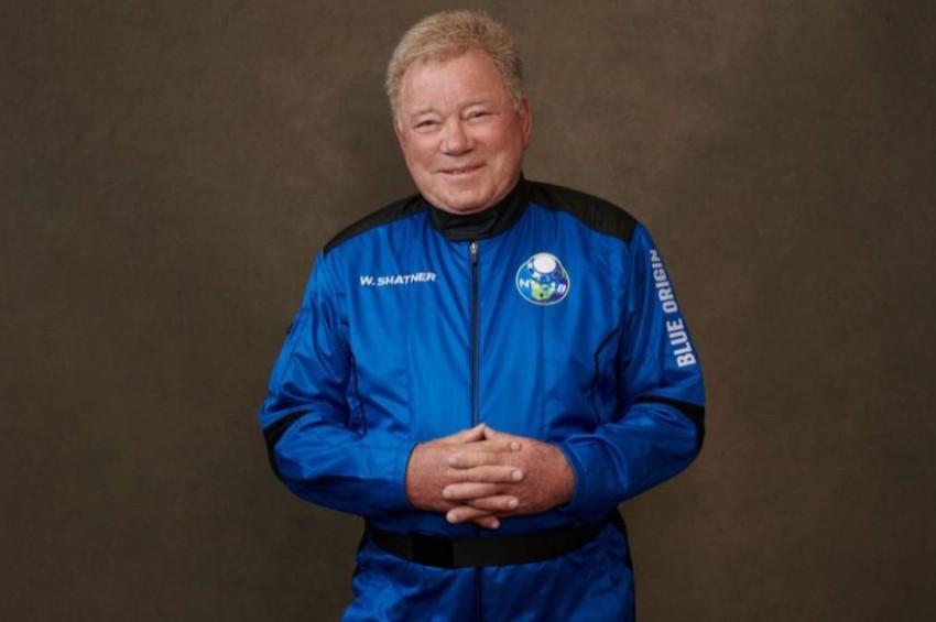 Kaptan Kirk 90 yaşında uzaya çıkmayı başardı