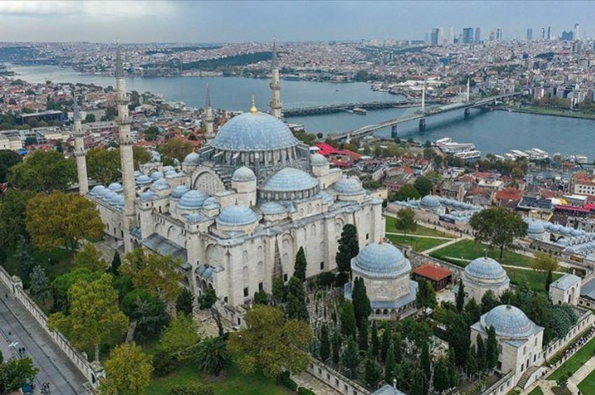 Süleymaniye Camisinin mimari harikaları
