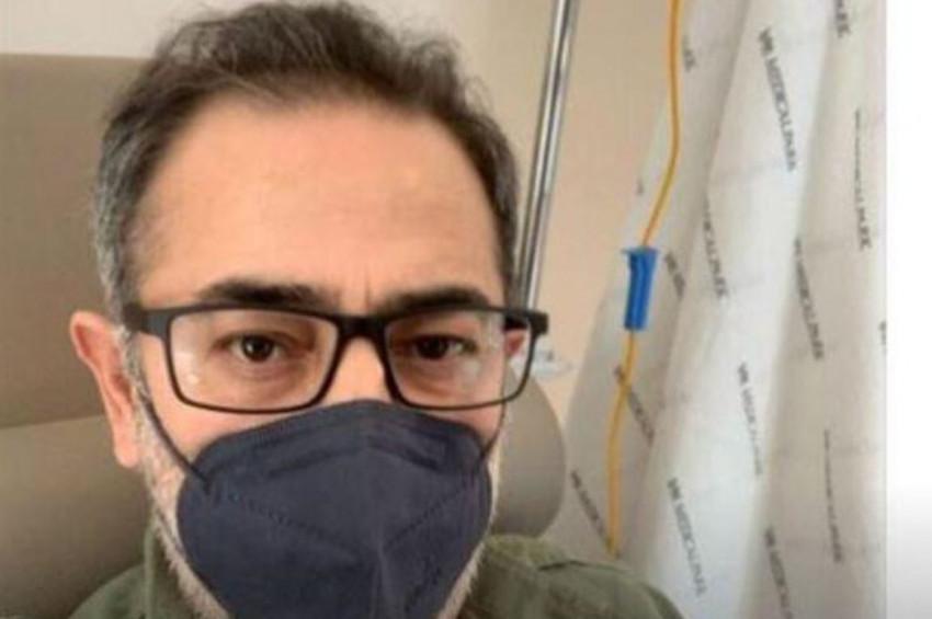 Oyuncu Ayberk Pekcan kansere yakalandığını açıkladı