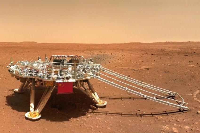Çinin mars robotları uyudu