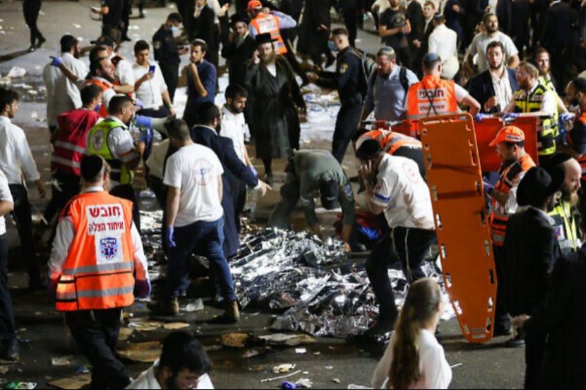 İsrailde Lag BaOmer Bayramında kaza: 30 Yaralı