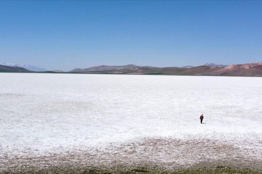Vanda 407 hektar büyüklüğündeki Akgöl kurudu