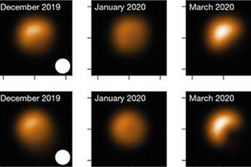Betelgeuse yıldızı neden görünmez oldu?