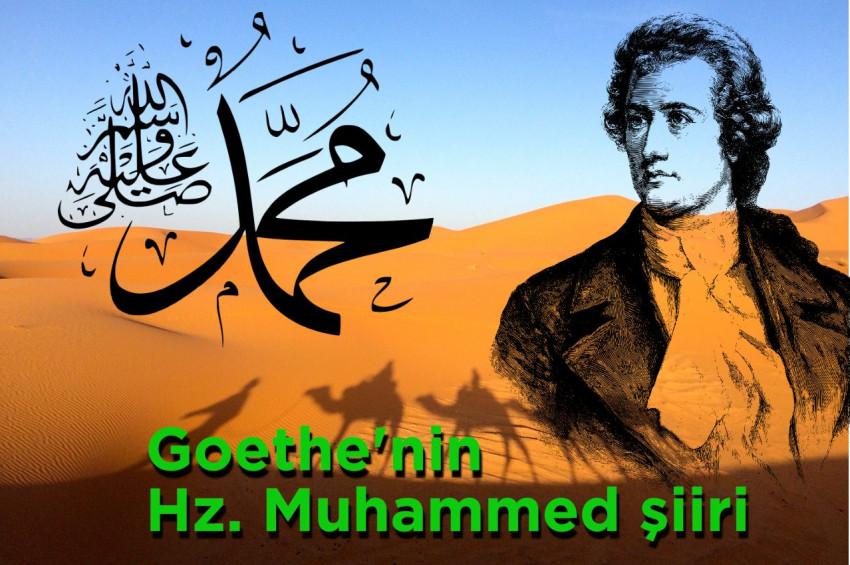 Goethenin Hz. Muhammed için yazdığı şiir