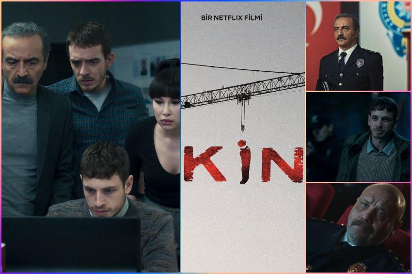 Netflixin  Yılmaz Erdoğan imzalı dizisi: Kin