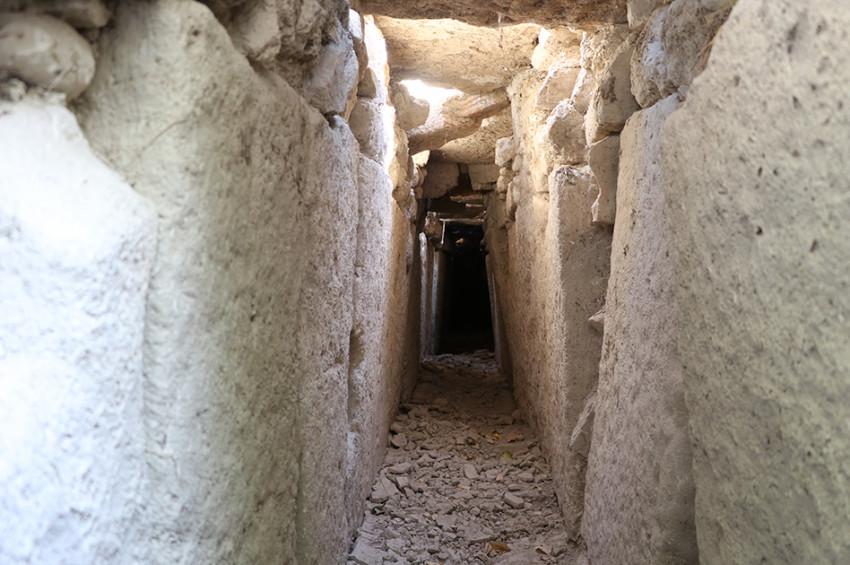 Denizlide Romalılardan kalma kanalizasyon kanalı keşfedildi