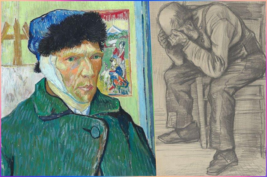 Ressam Van Goghun bilinmeyen çizimi: Study for Worn Out
