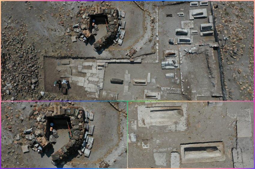 Anideki kazılarda Selçuklu kümbeti ortaya çıkarıldı