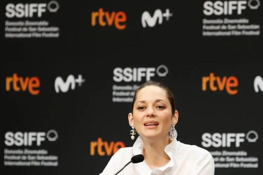 2021 Donostia Ödülü Marion Cotillarda verildi