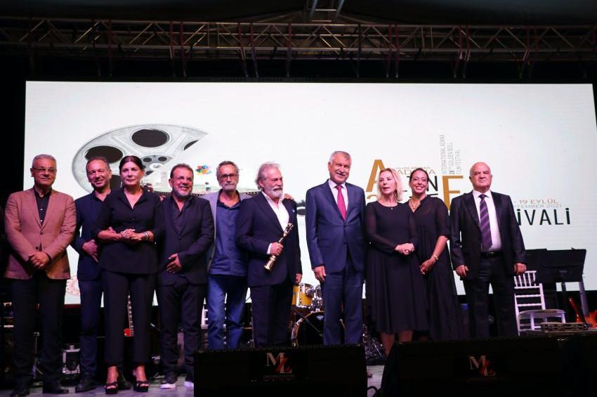 Altın Koza Yaşam Boyu Onur Ödülleri Şerif Sezer, Haluk Bilginer ve Yavuz Turgulun