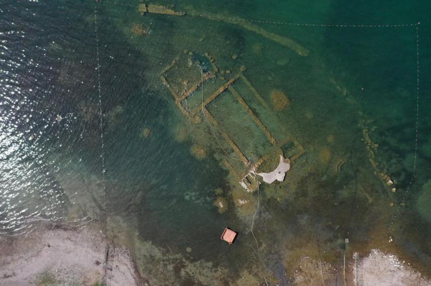 Su altı arkeoloji müzesi olacaktı, su yüzüne çıktı!