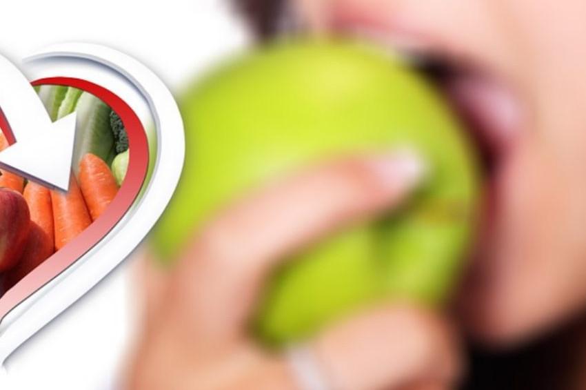 Elma, havuç ve armut diş temizliğine katkı sağlıyor