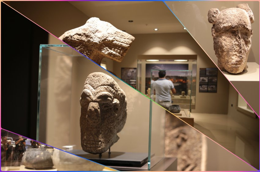 Göbeklitepeye rakip Karahantepeden çıkan tarihi eserler