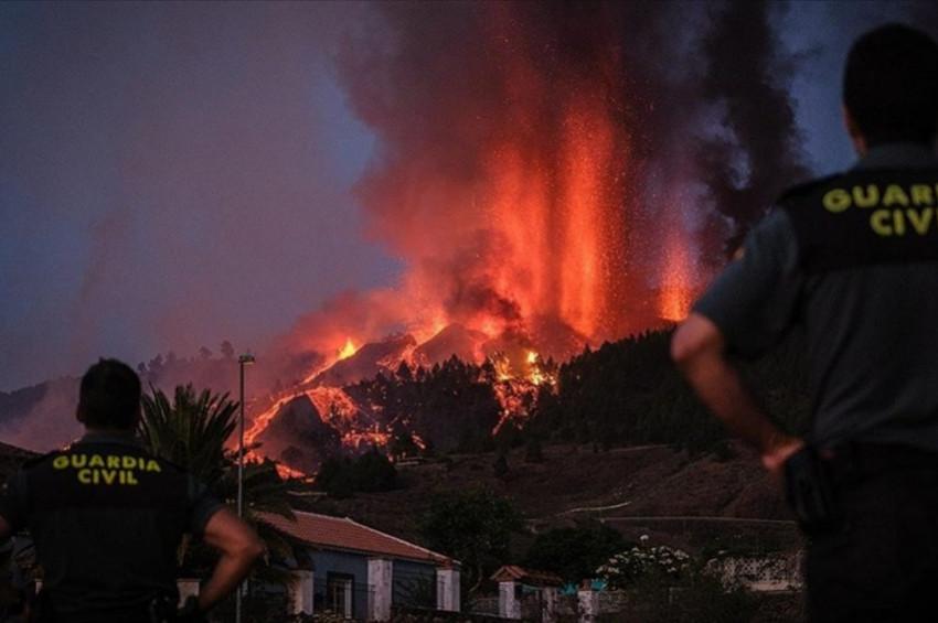 Cumbre Vieja yanardağı 5 günde 400 evi kül etti