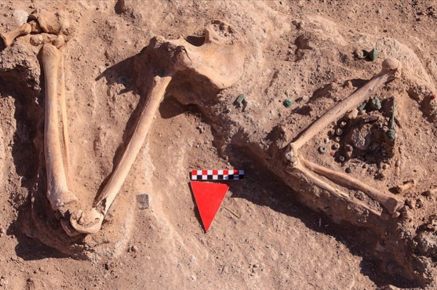 Vanda Urartuların başsız gömdüğü kadının mezarı bulundu
