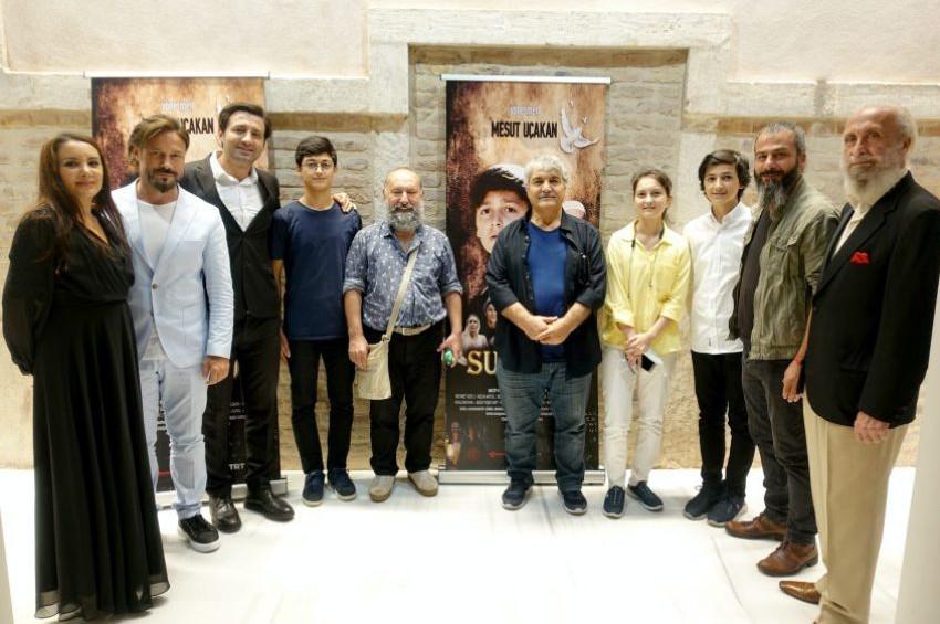 Mesut Uçakanın Suveyda filmi ilk tanıtımını yaptı