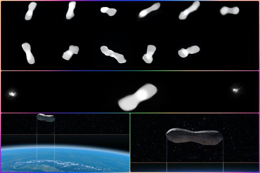 Kleopatra Asteroitinin en net görüntüsü çekildi